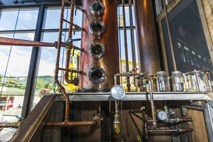 Copper Distillation Column